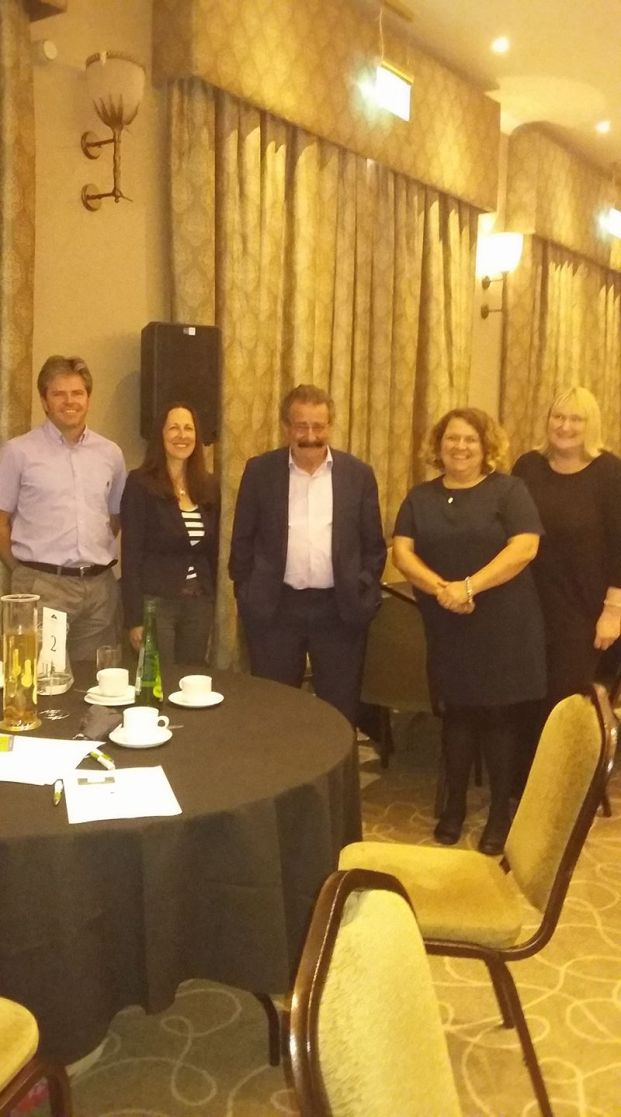 Colleagues and Robert Winston